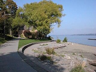 Madrona Park (Seattle) waterfront park in Seattle, Washington, U.S.