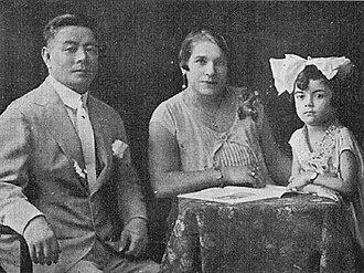 Mitsuyo Maeda - Maeda and his family in Brazil