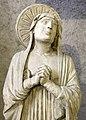 Maestro di sant'anastasia, cristo crocifisso con la madonna e san giovanni dolenti, dai ss. giacomo e lazzaro alla tomba, vr, 1300-50 ca. 03.jpg