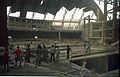 Main Auditorium Interior Under Construction - Convention Centre Complex - Science City - Calcutta 1995-06-09 124.JPG