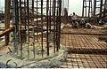 Main Auditorium Under Construction - Convention Centre Complex - Science City - Calcutta 1994-11-03 491.JPG