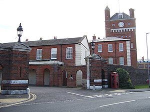 Eastney Barracks - Image: Main Gate, Eastney Barracks Portsmouth geograph.org.uk 751148