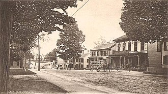 Jaffrey, New Hampshire - Image: Main Street, Looking East, East Jaffrey, NH