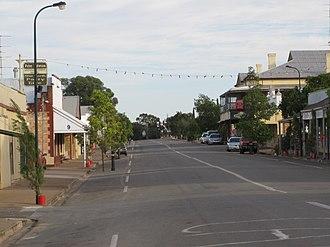 Blyth, South Australia - Main street of Blyth, looking north