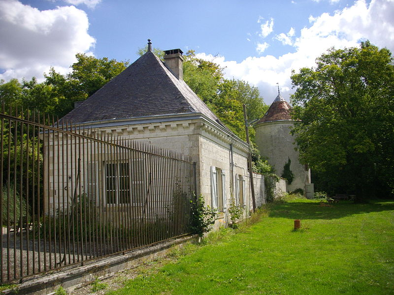 Castle of Mairy-sur-Marne (Marne, France), outbuildings