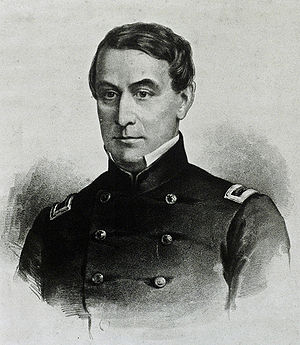 Louisville, Kentucky, in the American Civil War - Union Major Robert Anderson, Louisvillian, commander of Fort Sumter at the beginning of the Civil War