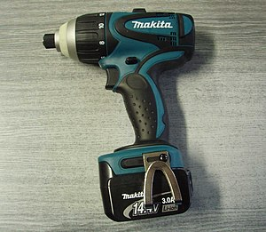 Makita Impact Screwdriver 14,4V 3.0 Ah Li-ion ...