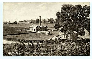 Bromsberrow - Image: Malvern Waterworks at Bromesberrow Tilley postcard