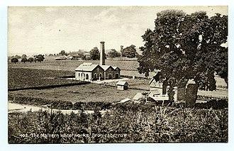 Bromsberrow - Image: Malvern Waterworks at Bromesberrow Tilley postcard