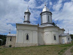 Rătești Monastery - Image: Manastirea ratesti 3