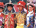 Manchus dressed as royal family.jpg