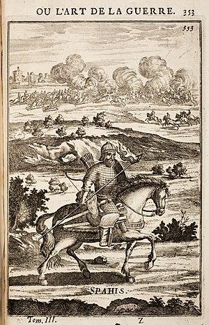 Sipahi - Sipahi. Manesson Mallet: Art de la Guerre, 1696