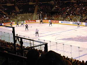 Manitoba Moose - A Moose game at the then-MTS Centre in 2006