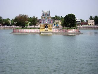 Temple tank - Haridra Nadhi, Mannargudi