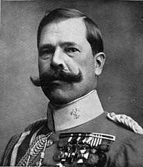 Retrato del general Manuel Fernández Silvestre, fotografiado por Kaulak .