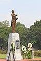 Manuel L. Quezon statue and historical marker.jpg