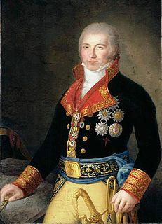 Manuel Godoy Prime Minister of Spain