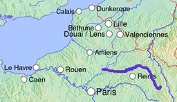 The Aisne in northern France