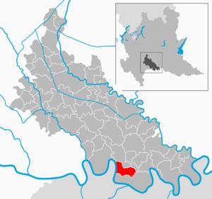 Guardamiglio - Image: Map IT Lodi Guardamiglio