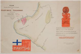 Map - Province of Takitimu