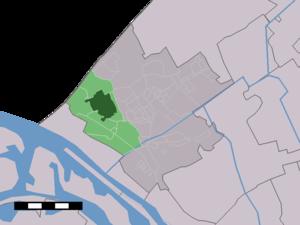 's-Gravenzande - Image: Map NL Westland 's Gravenzande