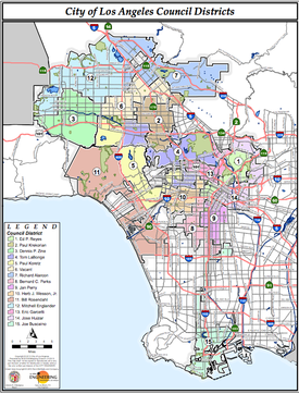 Los Angeles District Map Category:Los Angeles City Council districts   Wikipedia