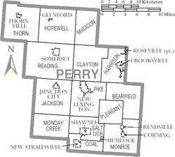 Map of Perry County Ohio With Municipal and Township Labels.PNG