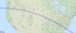 Solar Eclipse Of August Wikipedia - Last of us travel map