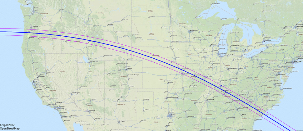 Map of the solar eclipse 2017 USA OSM Zoom1.png