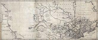 Rainy Lake - Image: Mapofcanada 1762
