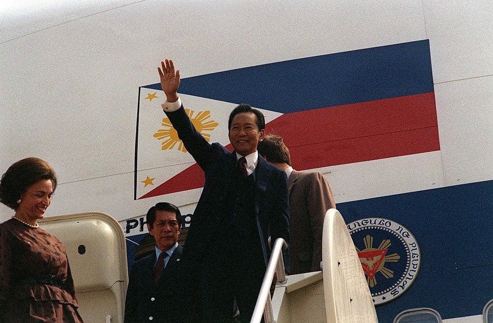 Marcos in Washington 1983