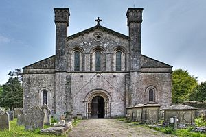 Margam Abbey - Margam Abbey: the present parish church comprises the nave of the abbey church