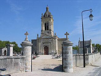 Margaux - Image: Margaux Eglise