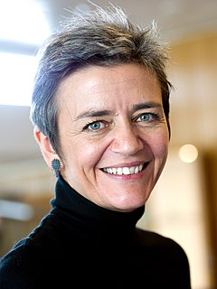 Margrethe Vestager Danish politician