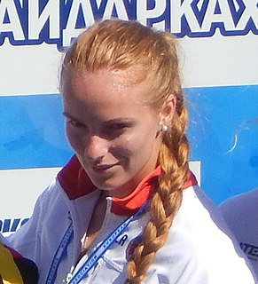Marharyta Makhneva Belarussian canoeist