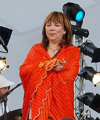 Sami music - Image: Mari Boine 2