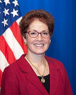 Marie Yovanovitch Former American ambassador