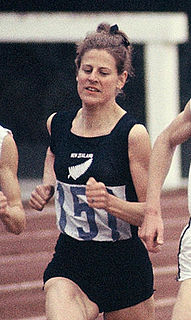 Marise Chamberlain New Zealand middle-distance runner