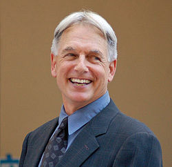 Mark Harmon á verðlaunaafhendingu Hollywood Walk of Fame