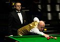 Mark King and Ingo Schmidt at Snooker German Masters (DerHexer) 2015-02-04 05.jpg