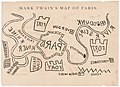 Mark Twain's Map of Paris, 1870 - Cornell University Library.jpg