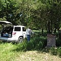 Marker and NTIR Staff at Six Mile Stage Station at Lost Springs, KS (ff2101b52da84d04ac1163a9284c122a).JPG