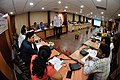 Martin Bellamy Interacts with Participants and Dignitaries - valedictory Session - Collections and Storage Management Workshop - NCSM - Kolkata 2016-02-20 9952.JPG