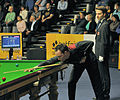 Martin O'Donnell, Mark Williams and Marcel Eckardt at Snooker German Masters (DerHexer) 2013-01-30 03.jpg