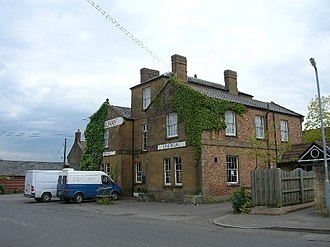 Yeovil–Taunton line - The former Railway Hotel, which stood opposite Martock station