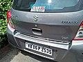 Maruti Suzuki - Celerio VXi Rear End - WB 06 P 2535 - Kolkata 20170915131236.jpg