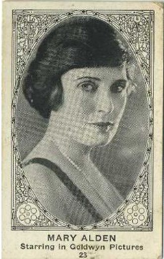 Mary Alden - Image: Mary Alden movie card