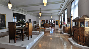 Maryhill Museum of Art - Palace furnishings of Queen Marie and other related items.