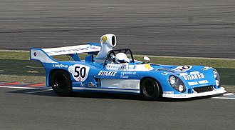Matra-Simca MS670 - Image: Matra 670C at Silverstone Classic Endurance Car Racing in September 2009