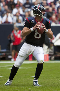 Matt Schaub American football quarterback